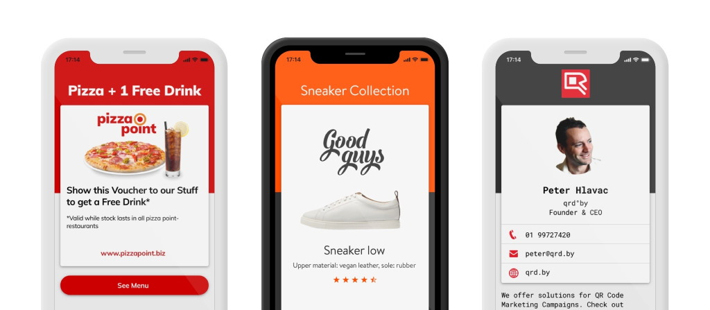 Mobile-Friendly Landing Pages | qrd°by